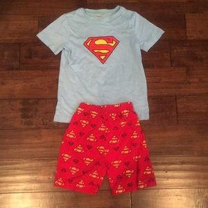 Other - Size 7 Superman 2 piece pajamas
